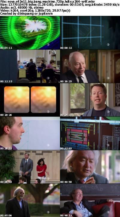 PBS - NOVA S42E11 Big Bang Machine (2015) 720p HDTV x264-W4F