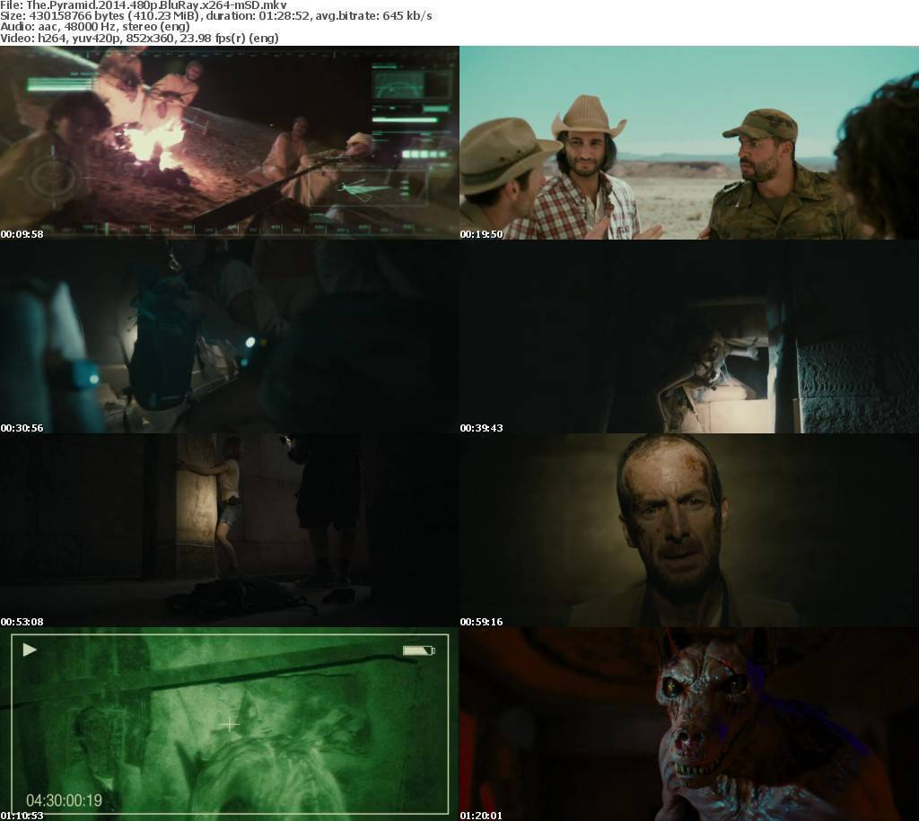 The Pyramid (2014) 480p  (1Link)