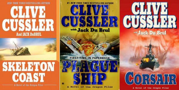 Clive Cussler - Oregon 1-9    PDF