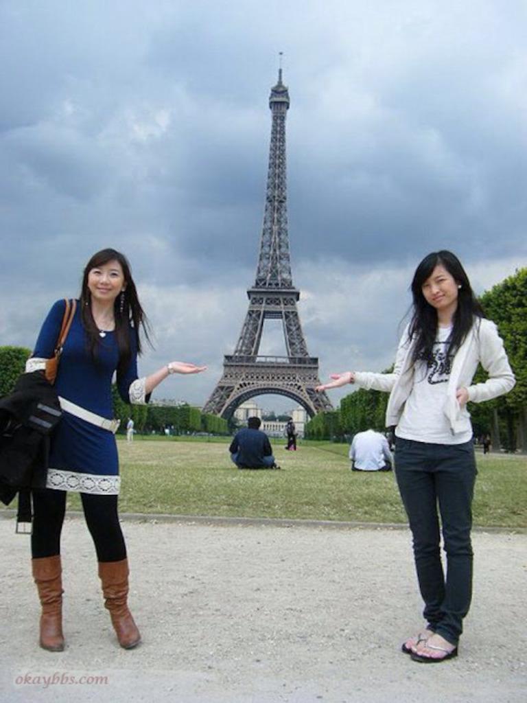 婉芳之在法国留学一起走过的日子华中科大的同学还记得么?