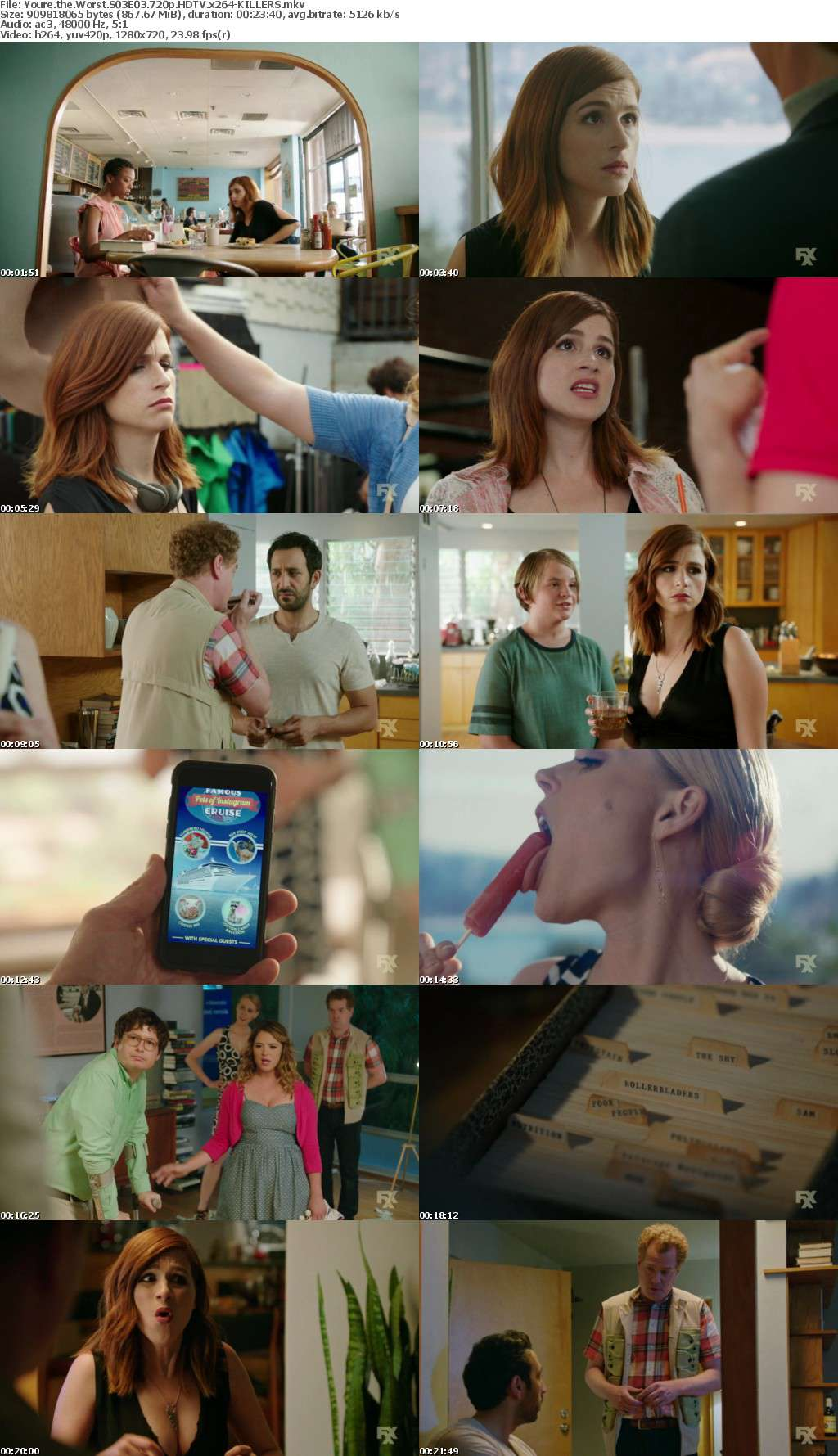 Youre the Worst S03E03 720p HDTV x264-KILLERS