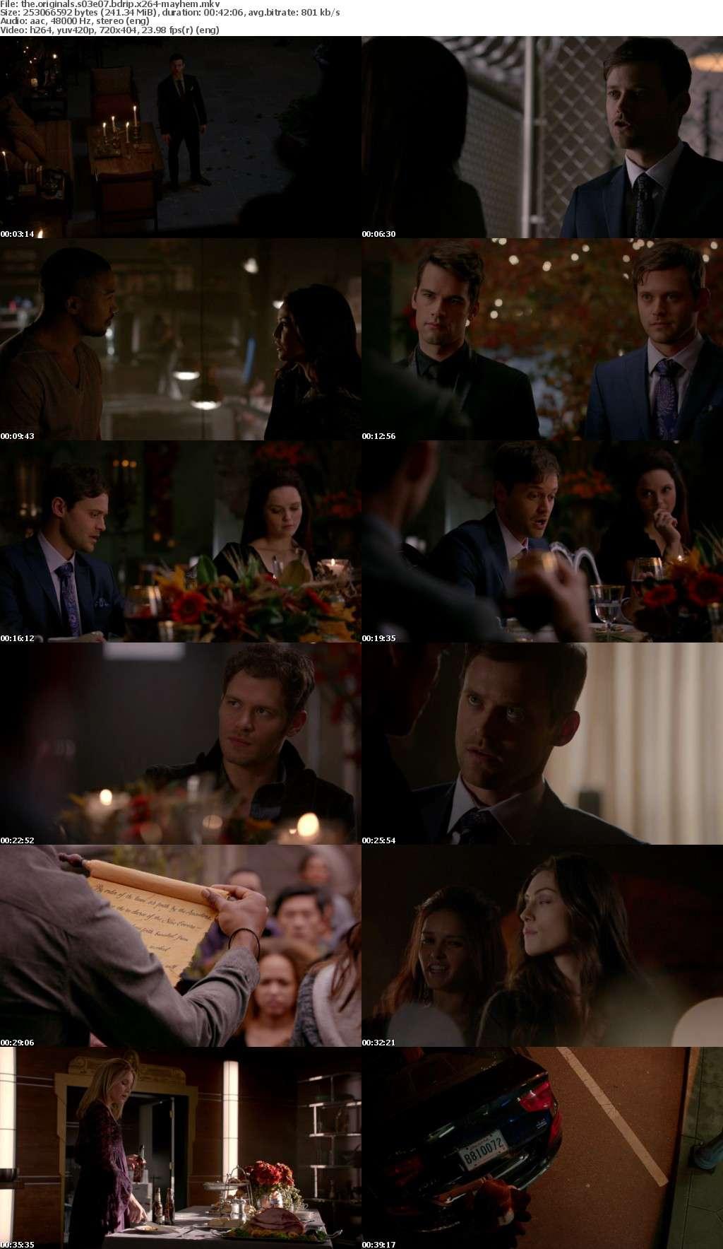 The Originals S03 BDRip x264-MAYHEM