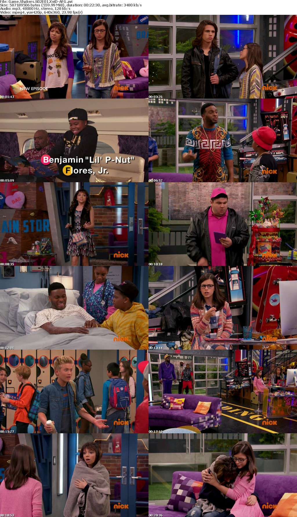 Game Shakers S02E01 XviD-AFG