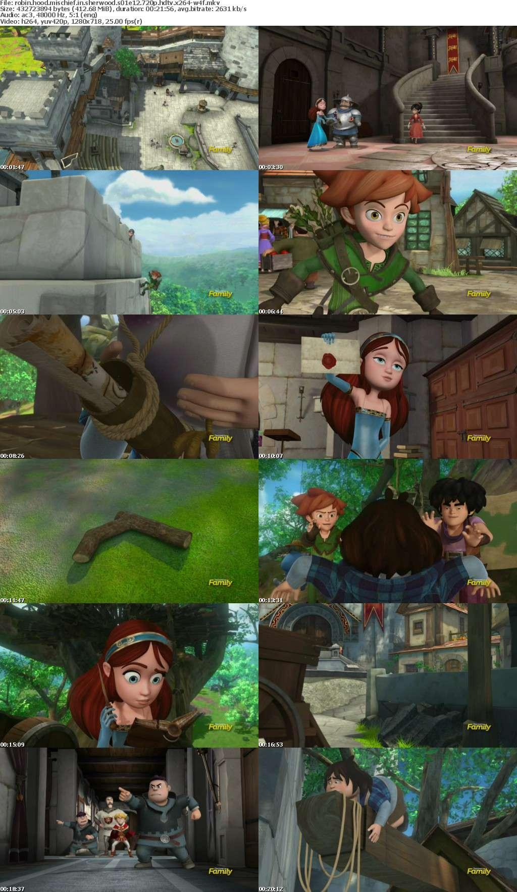 Robin Hood Mischief in Sherwood S01E12 720p HDTV x264-W4F