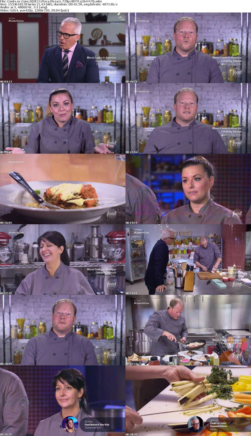 Cooks vs Cons S02E11 Pizza Pizzazz 720p HDTV x264-NTb