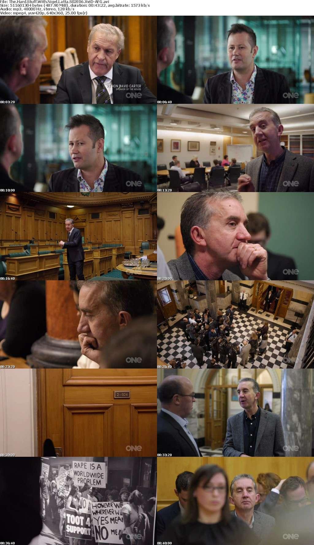 The Hard Stuff With Nigel Latta S02E06 XviD-AFG