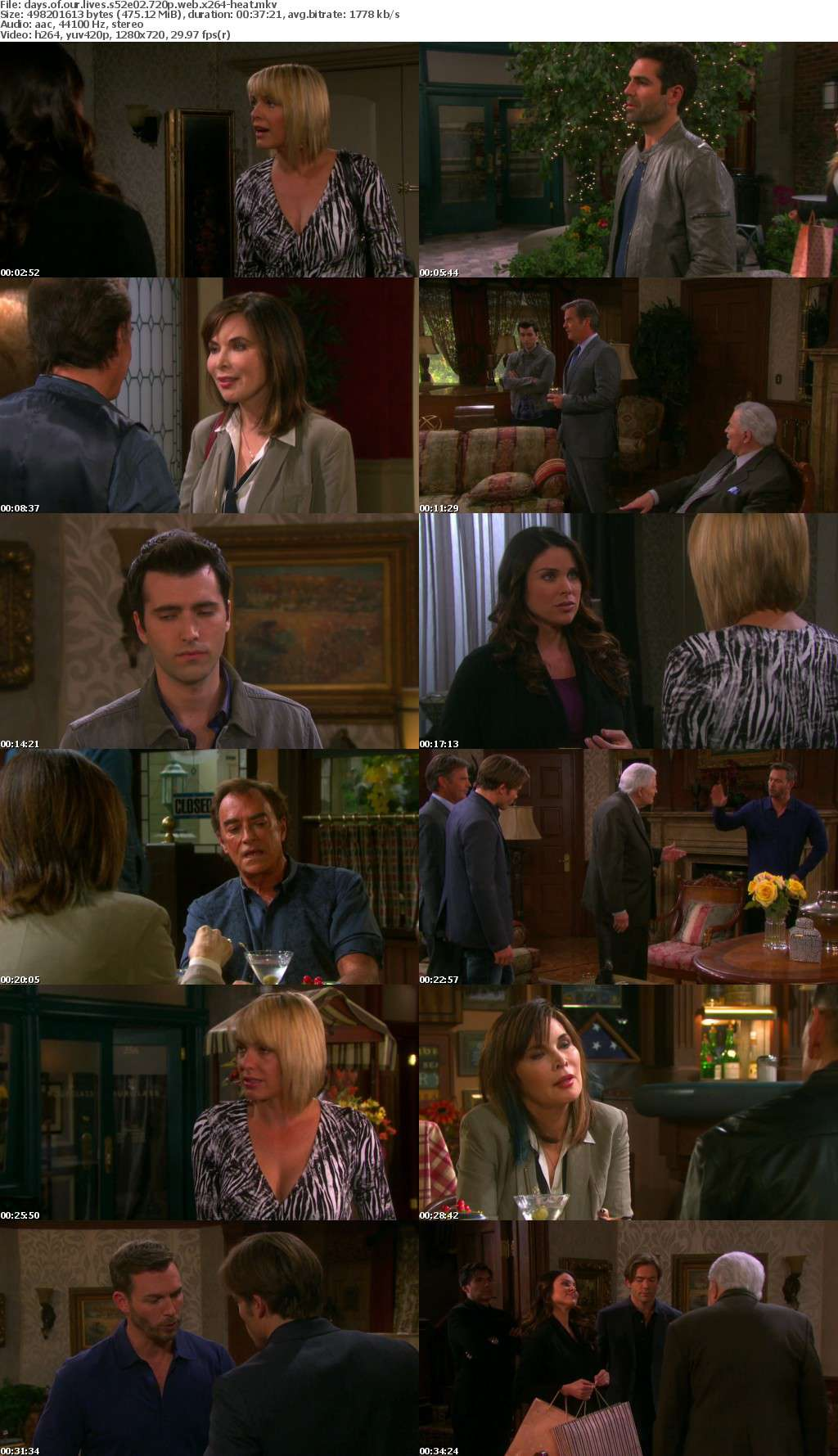 Days of our Lives S52E02 720p WEB x264-HEAT