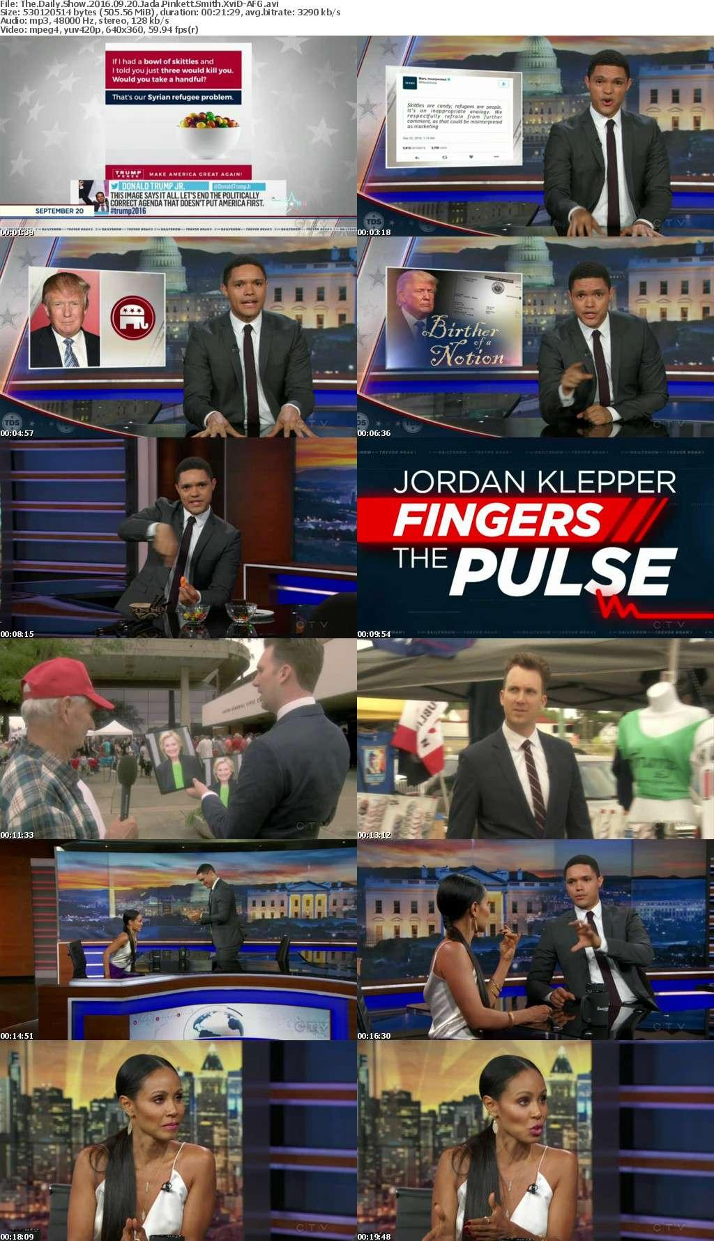 The Daily Show 2016 09 20 Jada Pinkett Smith XviD-AFG