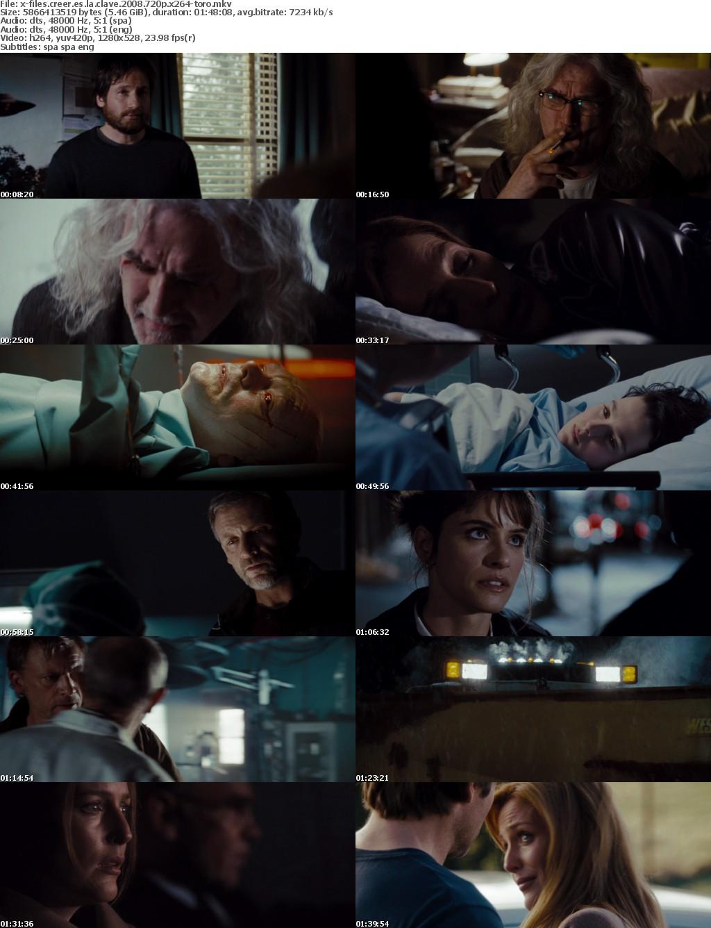 X-Files Creer Es La Clave 2008 SPANiSH MULTi 720p BluRay x264-TORO