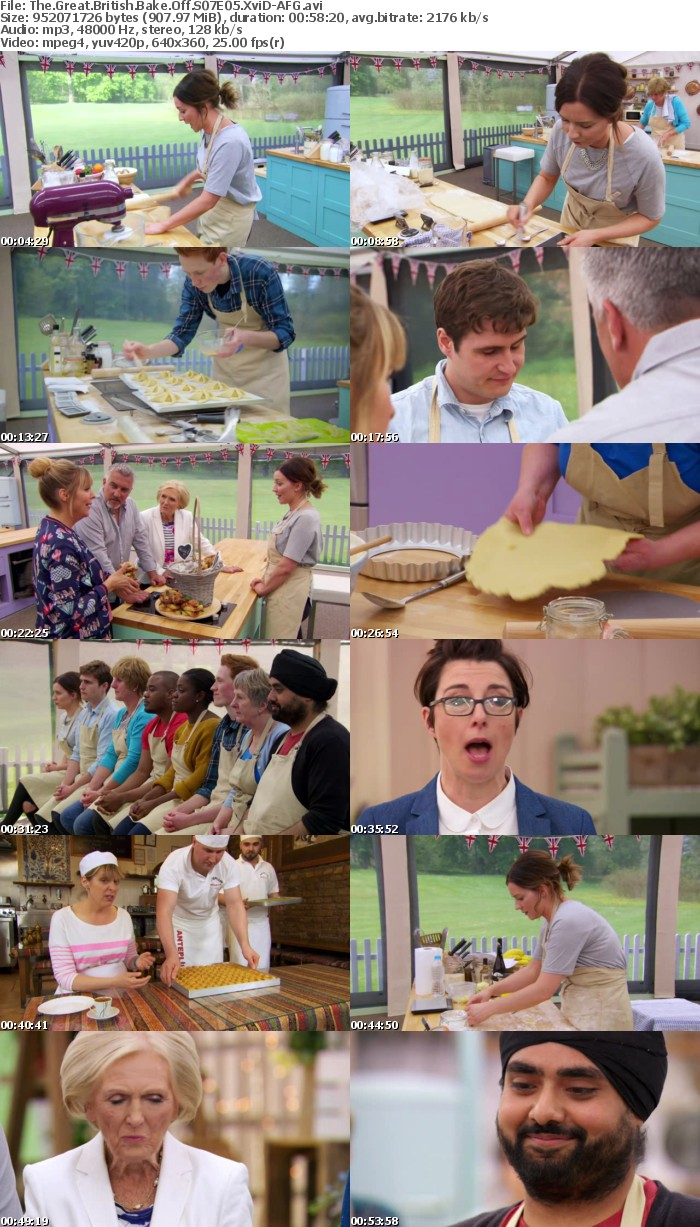 The Great British Bake Off S07E05 XviD-AFG