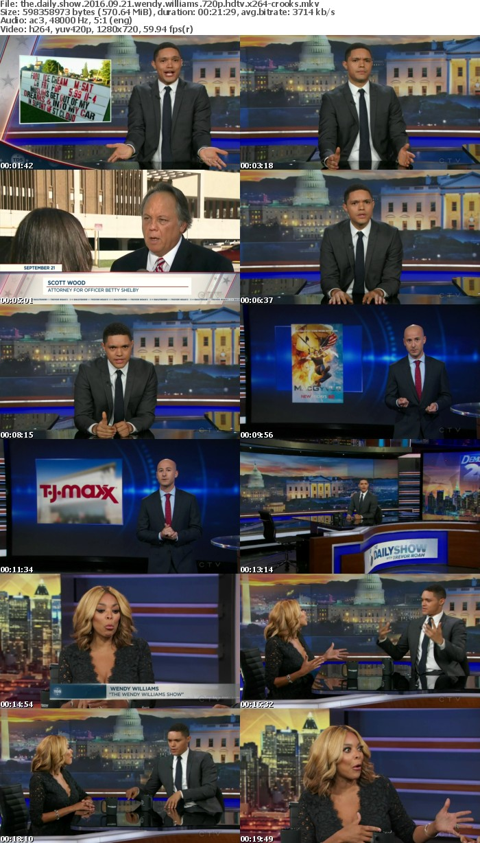 The Daily Show 2016 09 21 Wendy Williams 720p HDTV x264-CROOKS