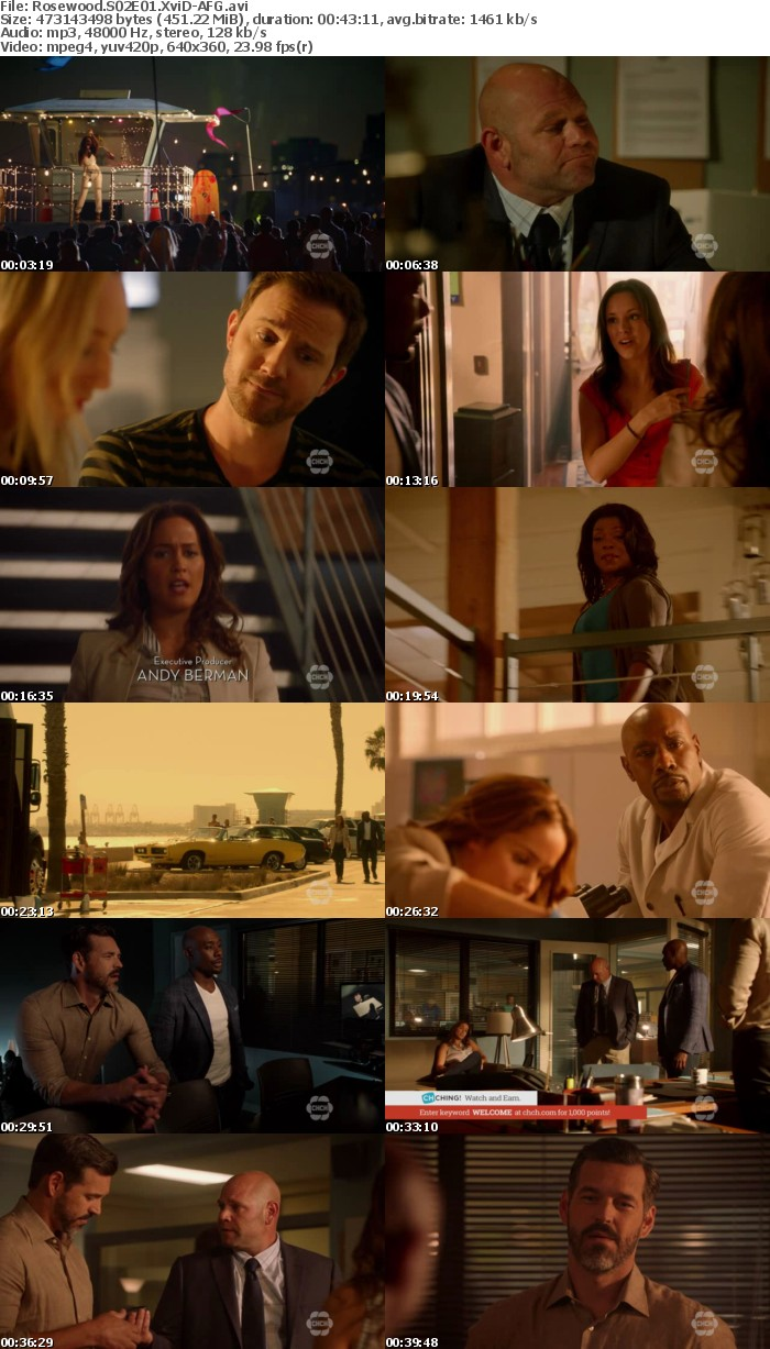 Rosewood S02E01 XviD-AFG