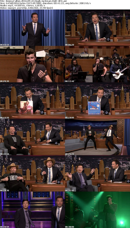 Jimmy Fallon 2016 09 22 Hugh Jackman XviD-AFG