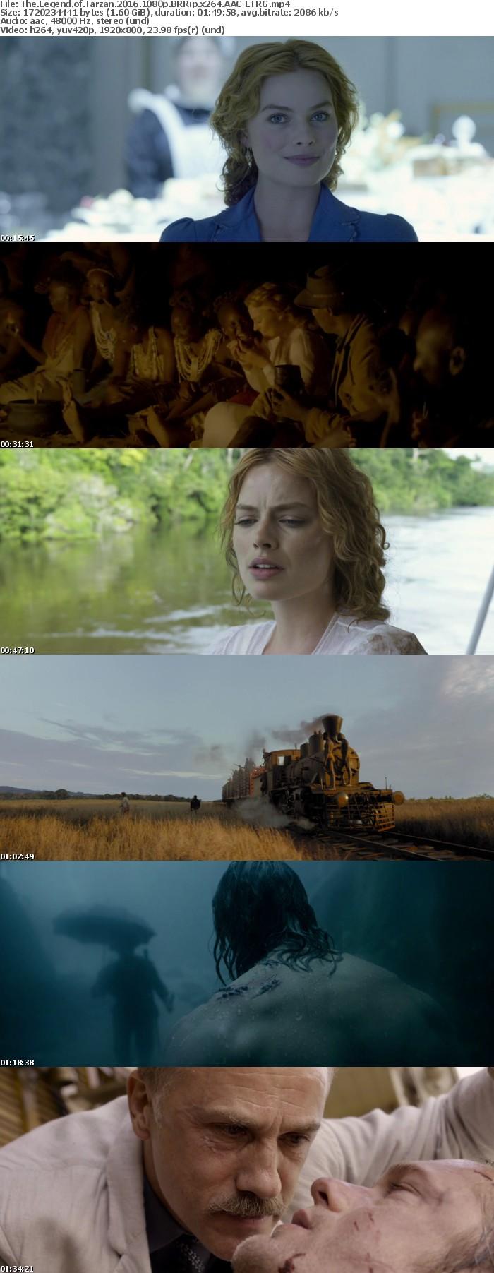 The Legend of Tarzan 2016 1080p BRRip x264 AAC ETRG