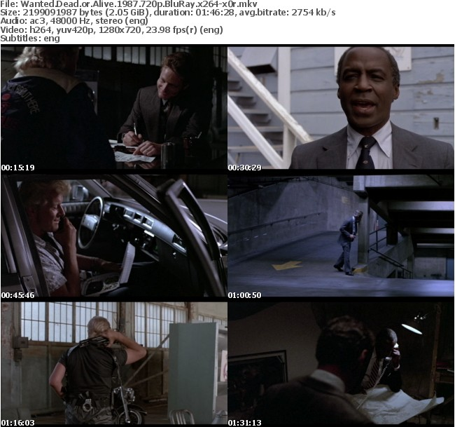 Wanted Dead or Alive 1987 720p BluRay x264-x0r