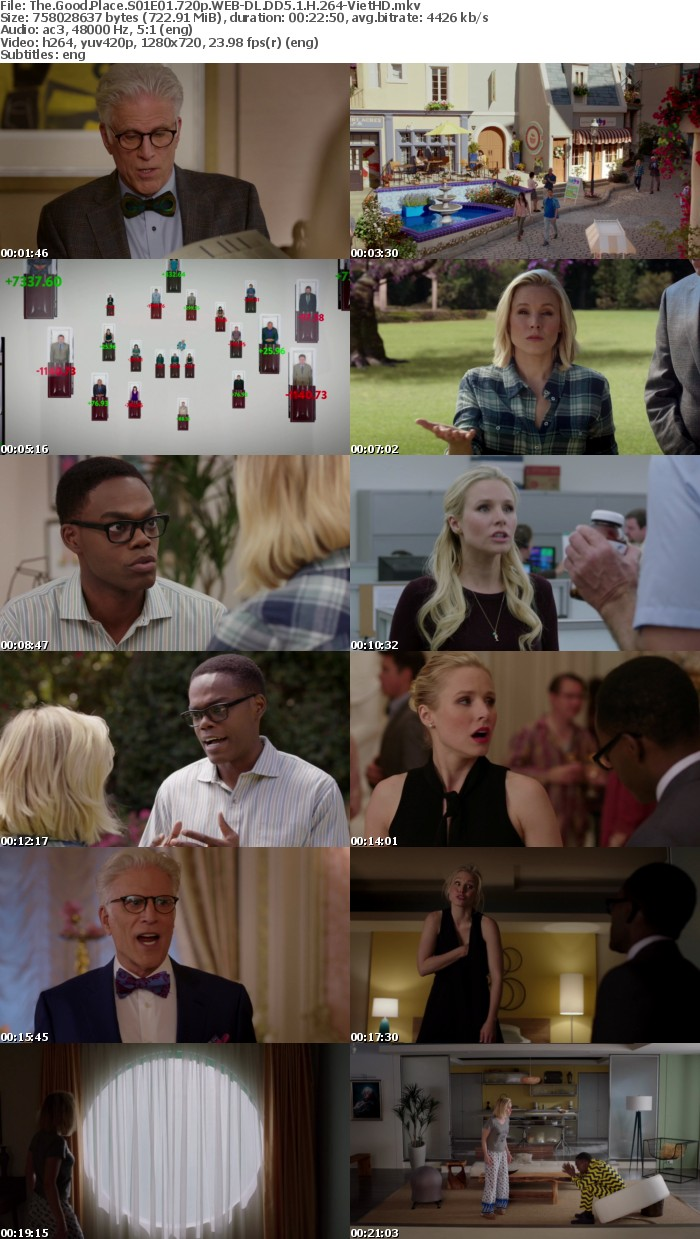 The Good Place S01E01 720p WEB-DL DD5 1 H 264-VietHD