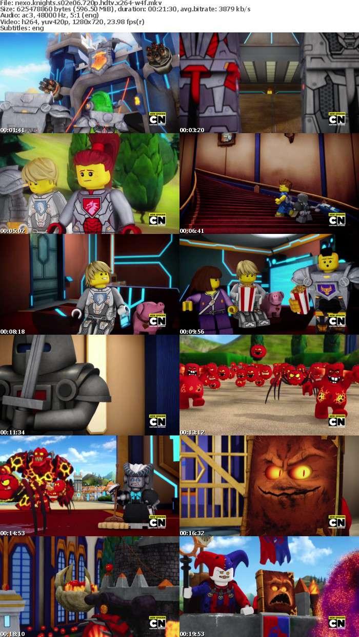 Nexo Knights S02E06 720p HDTV x264-W4F