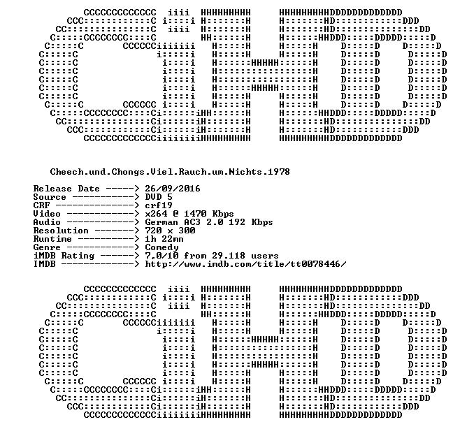 Cheech und Chongs Viel Rauch um Nichts 1978 GERMAN AC3 DVDRiP x264 iNTERNAL-CiHD