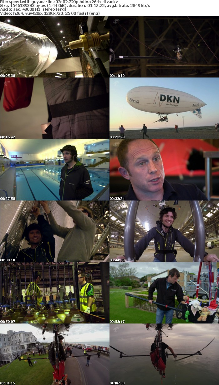 Speed With Guy Martin S03E02 720p HDTV x264-C4TV