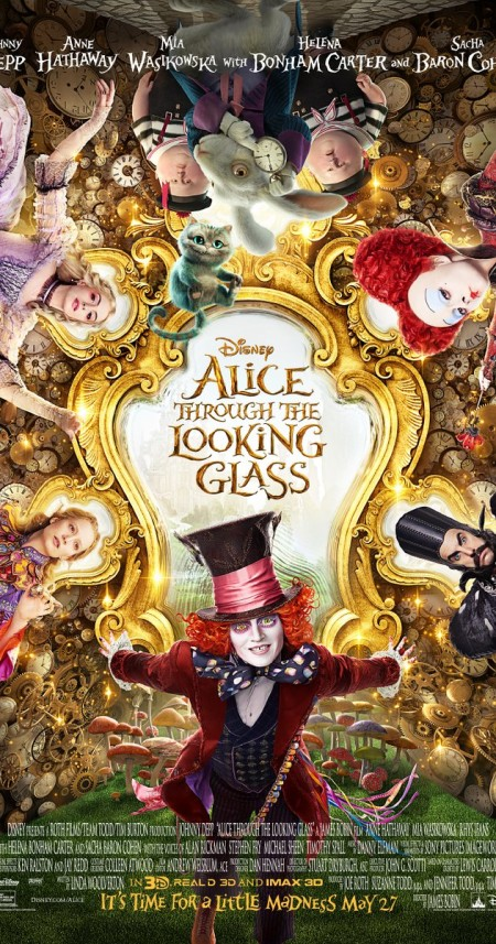Alice Through the Looking Glass 2016 720p BRRip x264 AAC ETRG