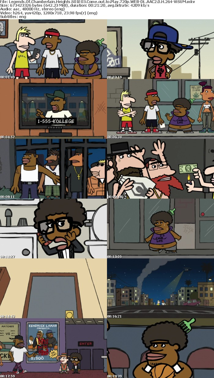 Legends Of Chamberlain Heights S01E03 Come out to Play 720p WEB-DL AAC2 0 H 264-ViSUM