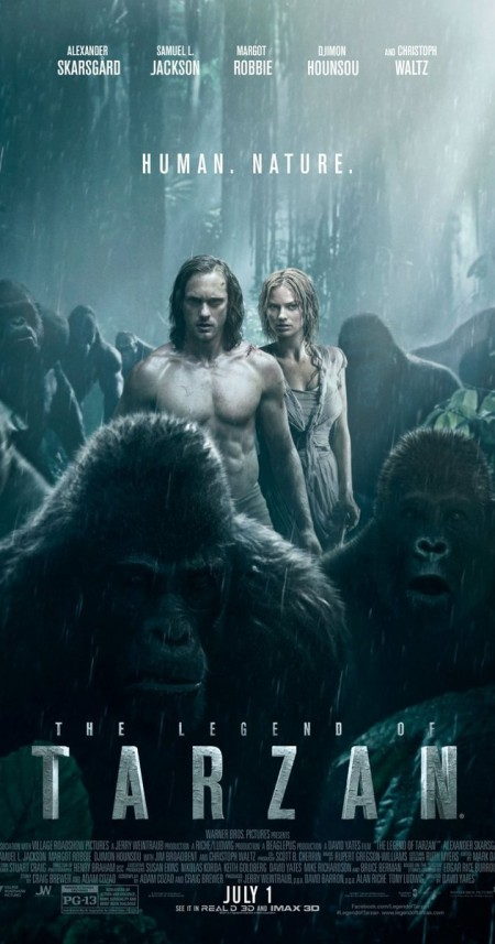 The Legend Of Tarzan 2016 720p BluRay x264