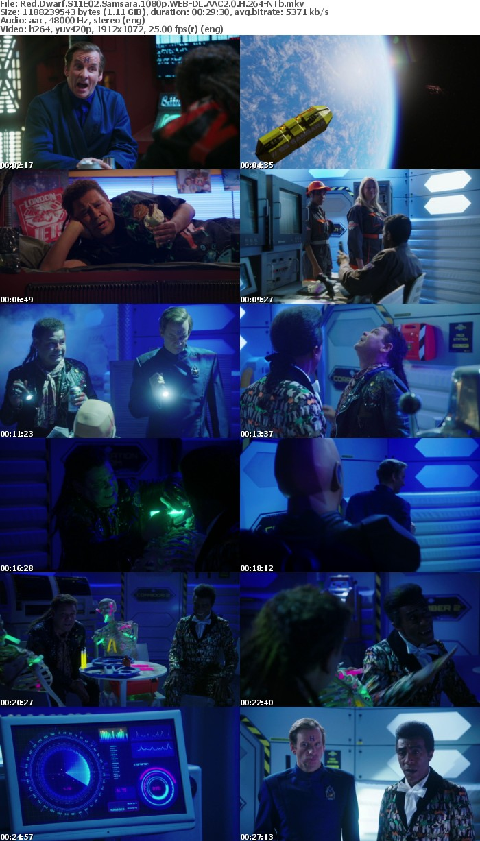 Red Dwarf S11E02 Samsara 1080p WEB-DL AAC2 0 H 264-NTb