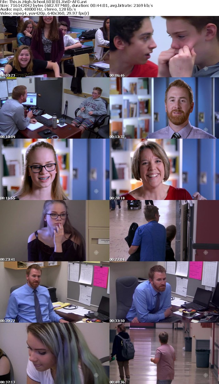 This is High School S01E01 XviD-AFG