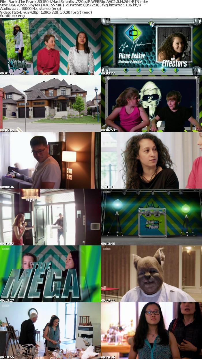 Rank The Prank S01E04 Mad Scientist 720p iP WEBRip AAC2 0 H 264-RTN