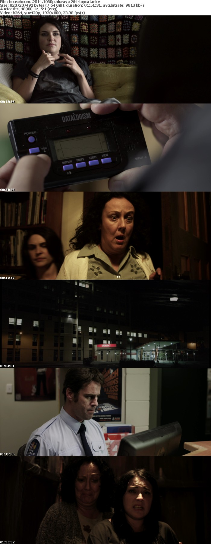 Housebound 2014 1080p BluRay x264-TOPCAT TL