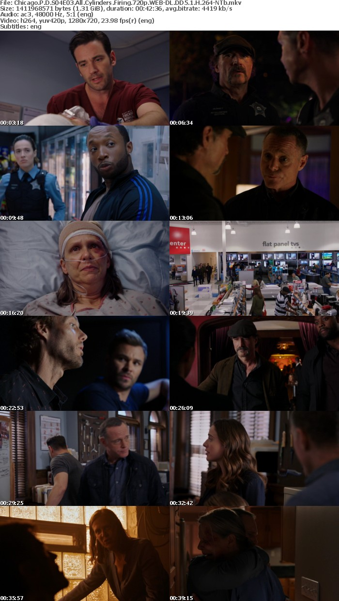 Chicago P D S04E03 All Cylinders Firing 720p WEB DL DD5 1 H 264 NTb