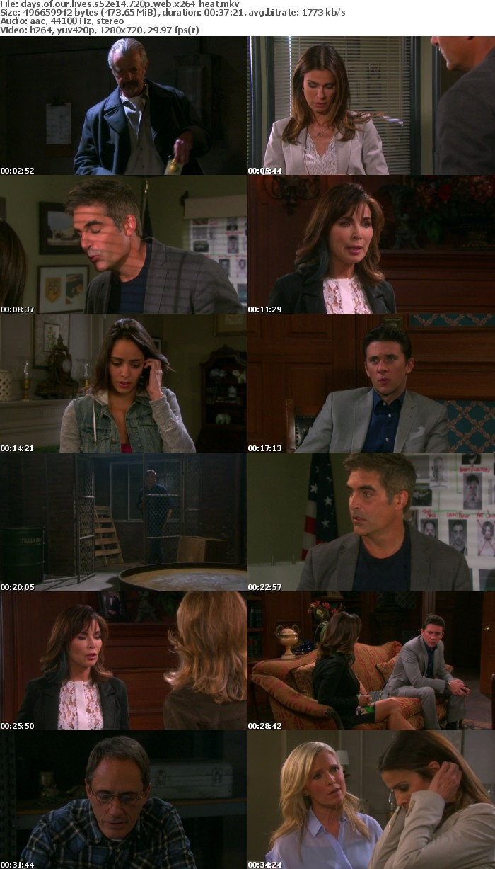 Days of our Lives S52E14 720p WEB x264-HEAT