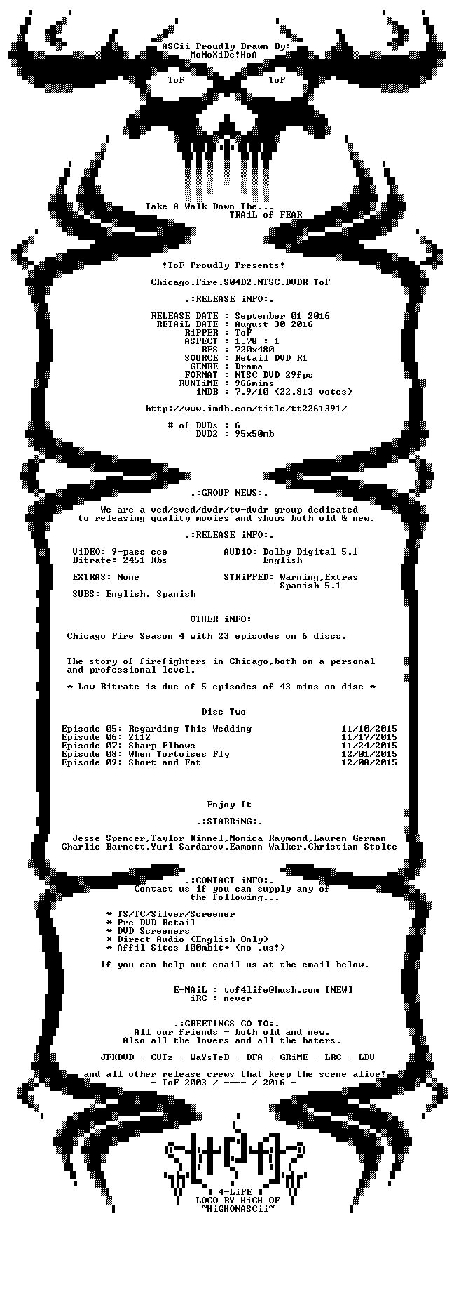 Chicago Fire S04 NTSC DVDR
