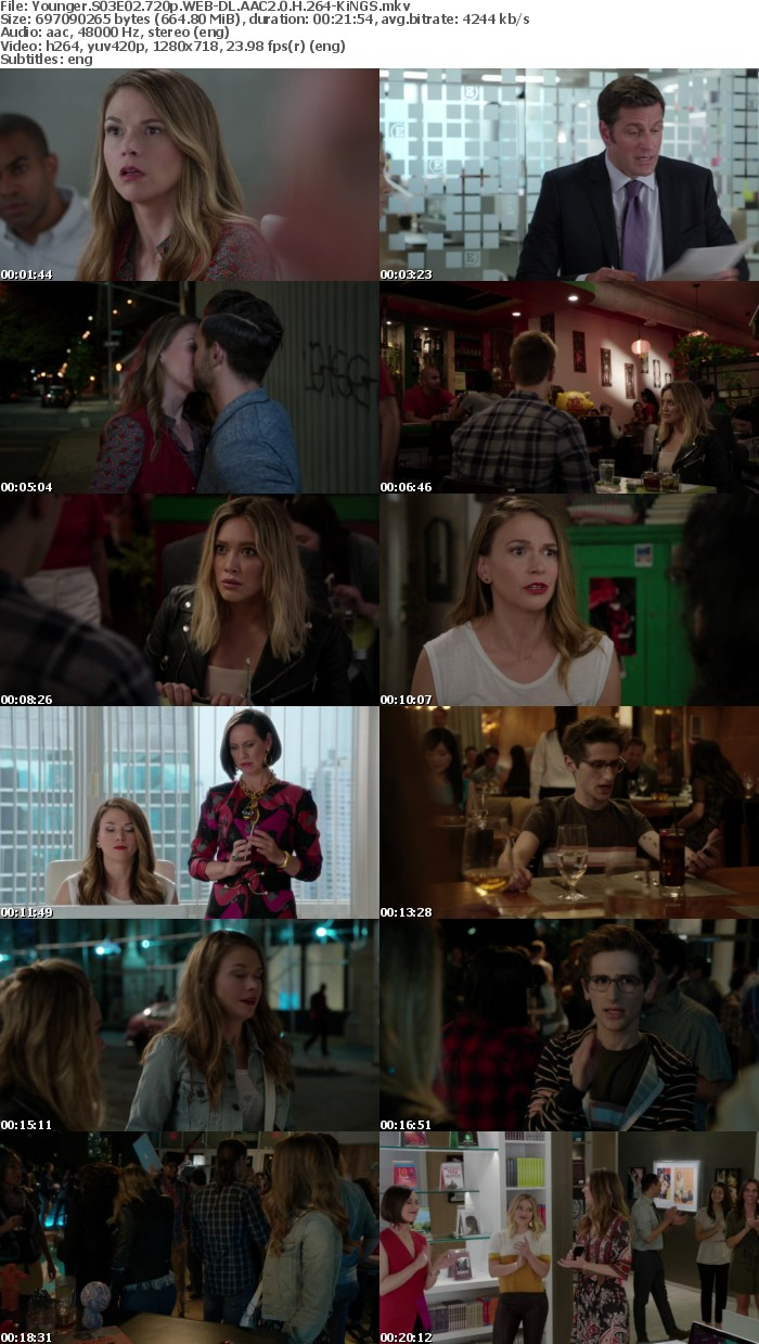 Younger S03E02 720p WEB DL AAC2 0 H 264 KiNGS