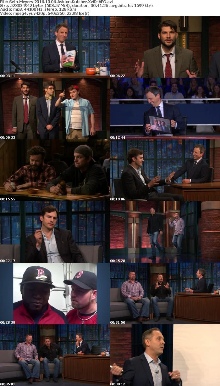 Seth Meyers 2016 10 06 Ashton Kutcher XviD-AFG
