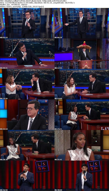 Stephen Colbert 2016 10 07 Diane Lane 720p WEB x264-HEAT