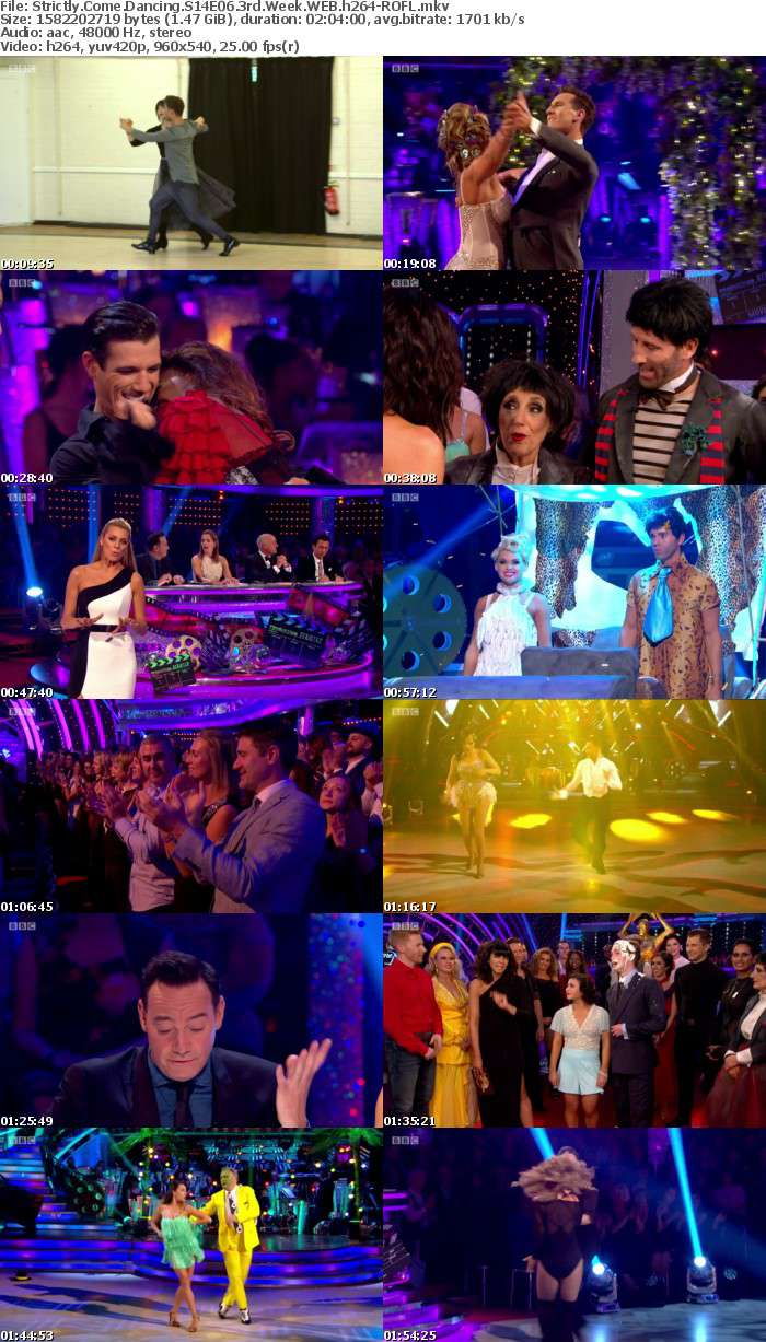 Strictly Come Dancing S14E06 3rd Week WEB h264-ROFL