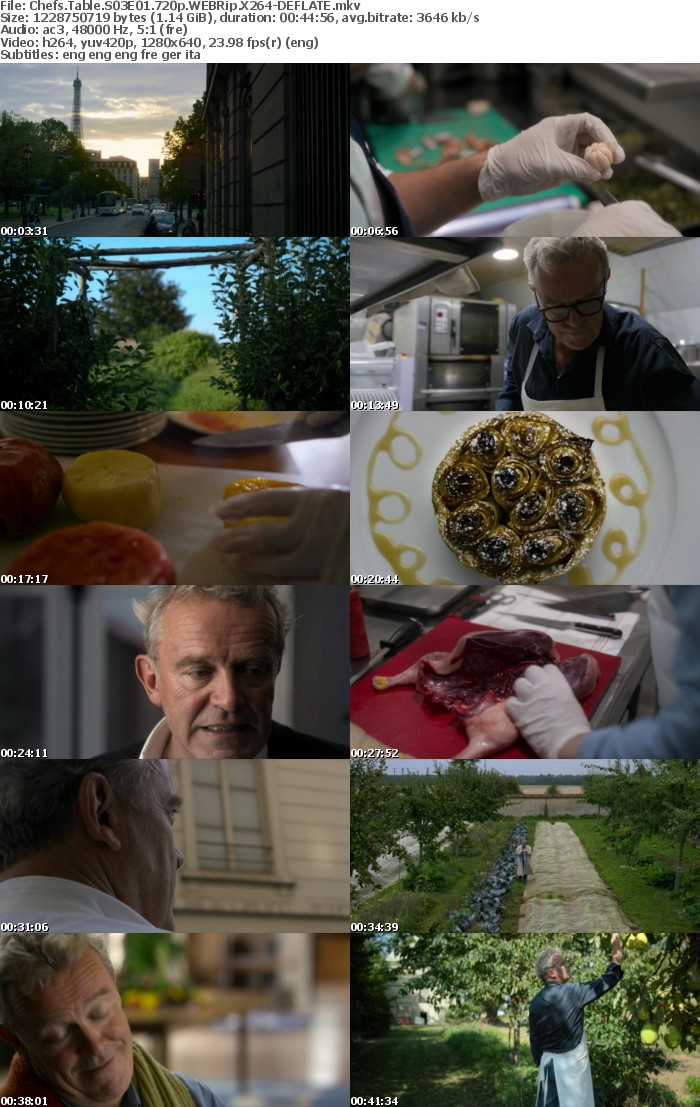 Chefs Table S03 720p NF WEBRip DD5 1 x264-DEFLATE