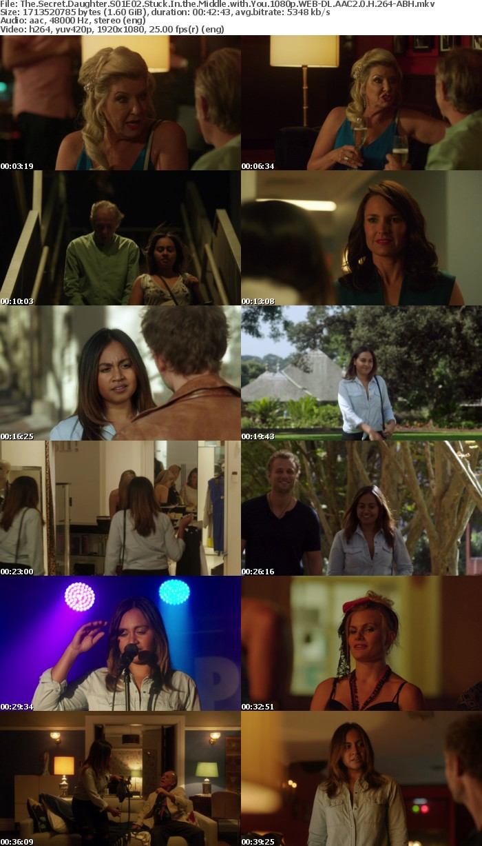 The Secret Daughter S01E02 Stuck In the Middle with You 1080p WEB DL AAC2 0 H 264 ABH