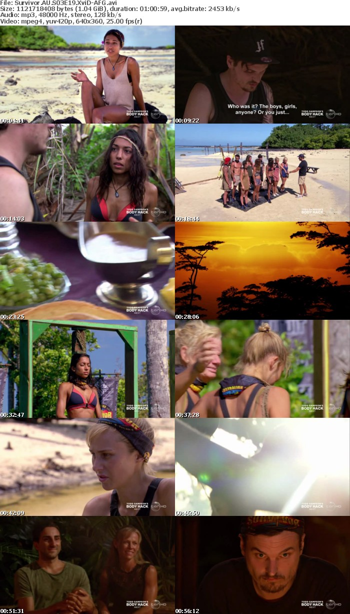 Survivor AU S03E19 XviD-AFG