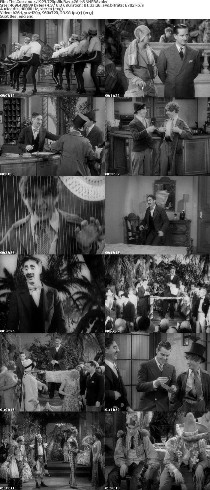 The Cocoanuts 1929 720p BluRay x264-SiNNERS