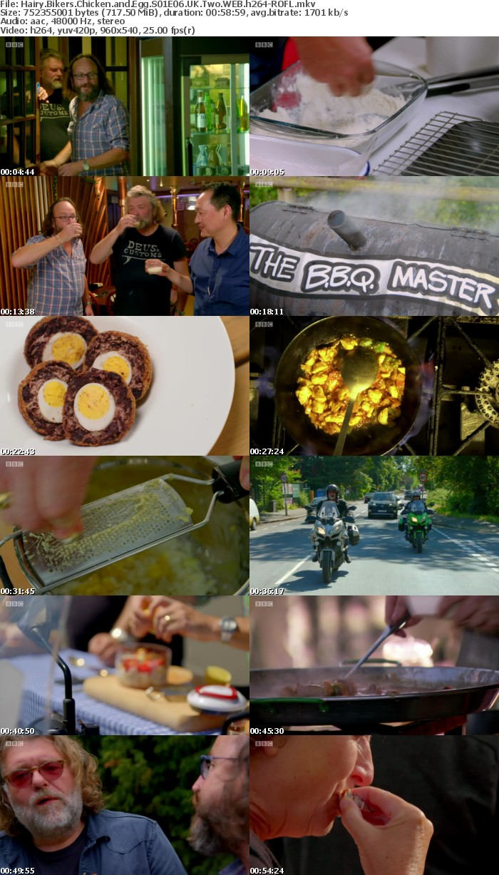 Hairy Bikers Chicken and Egg S01E06 UK Two WEB h264-ROFL