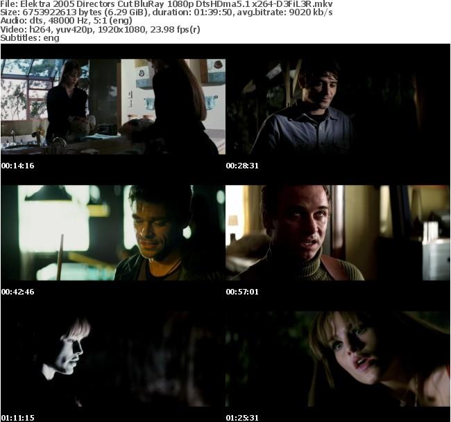 Elektra 2005 Directors Cut BluRay 1080p DtsHDma5 1 x264-D3FiL3R