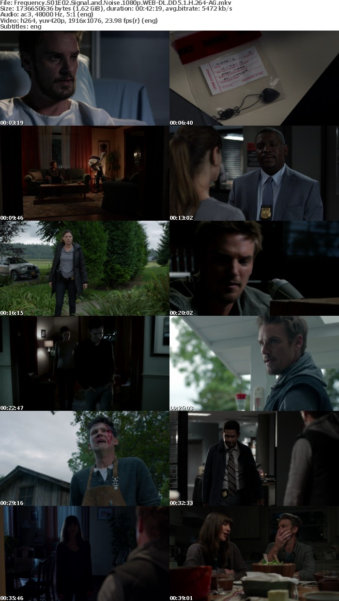 Frequency S01E02 Signal and Noise 1080p WEB DL DD5 1 H 264 AG