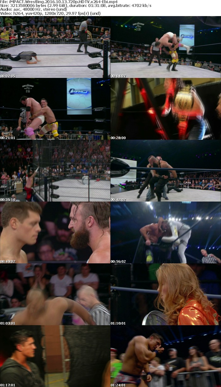 iMPACT Wrestling 2016 10 13 720p HDTV x264-Ebi