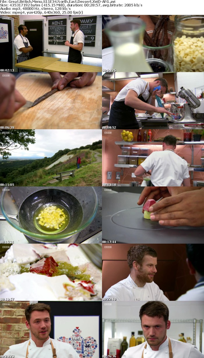 Great British Menu S11E34 North East Dessert XviD-AFG
