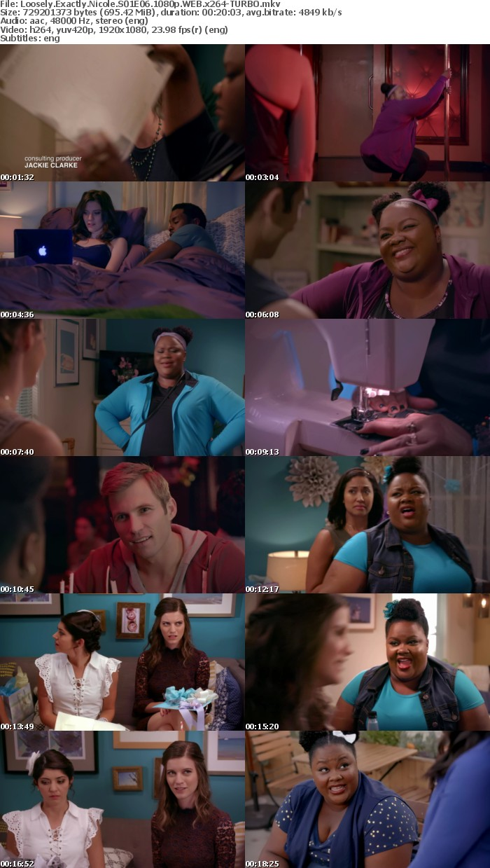 Loosely Exactly Nicole S01E06 1080p WEB x264-TURBO