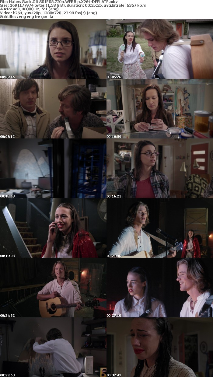 Haters Back Off S01E08 720p WEBRip X264-DEFLATE