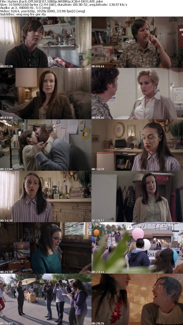 Haters Back Off S01 1080p WEBRip X264-DEFLATE
