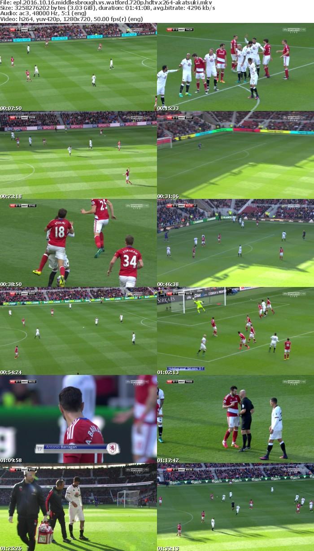 EPL 2016 10 16 Middlesbrough Vs Watford 720p HDTV x264-AKATSUKi